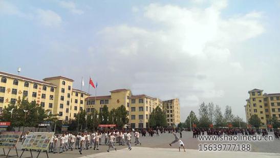 嵩山少林寺武校运动会