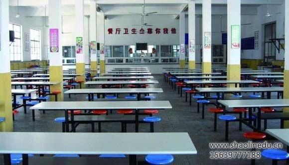 河南少林寺武校学生餐厅