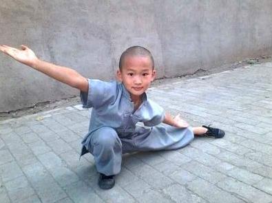 河南少森寺武术学校学生