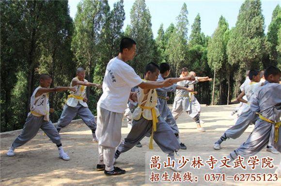 嵩山少林寺武术学院