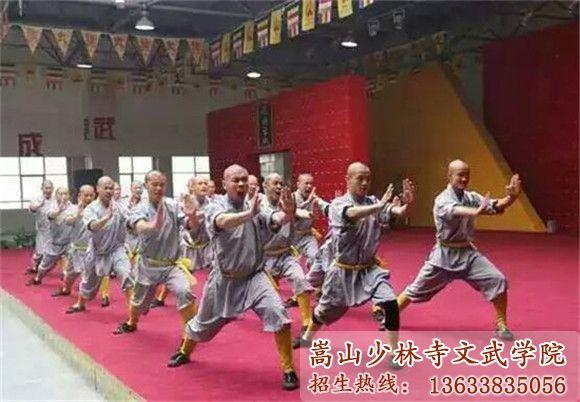 嵩山少林寺武校的学员在海外展露光芒