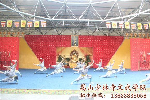 少林寺武术学校的学员在国外舞台上展露头角