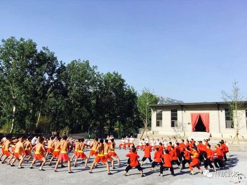 河南少林寺武术学校